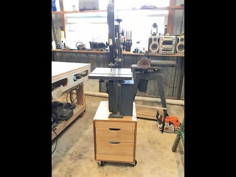 Harbor Freight Bandsaw Mods 1 - YouTube