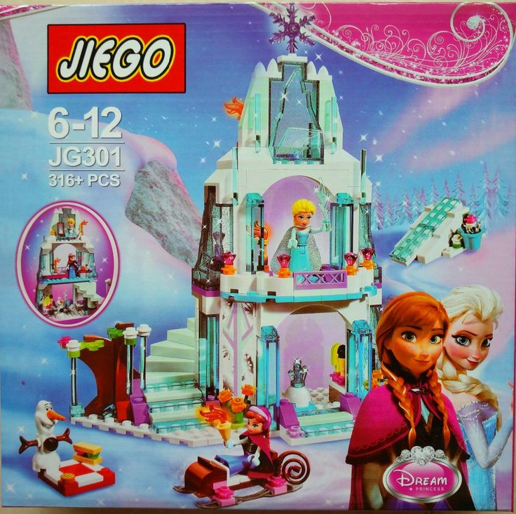 316pcs Dream Princess Elsa's Ice Castle Princess Anna Olaf Set Model Building Blocks Gifts Toys Compatible Legoelieds Friends-in Blocks from Toys & Hobbies on Aliexpress.com | Alibaba Group