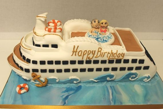 9 Best Cruise Ship Cake Images On Pinterest Cruise Ships