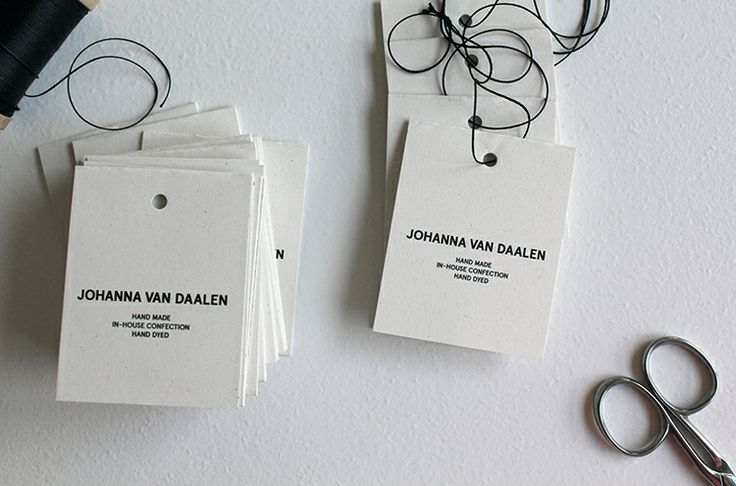 Getting Hang tags ready