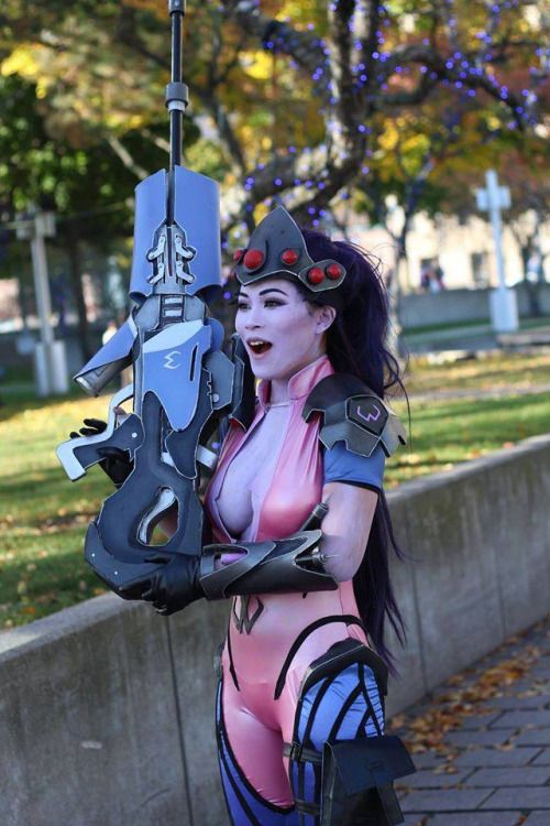OVERWATCH SEXY GIRLS • Widowmaker Cosplay