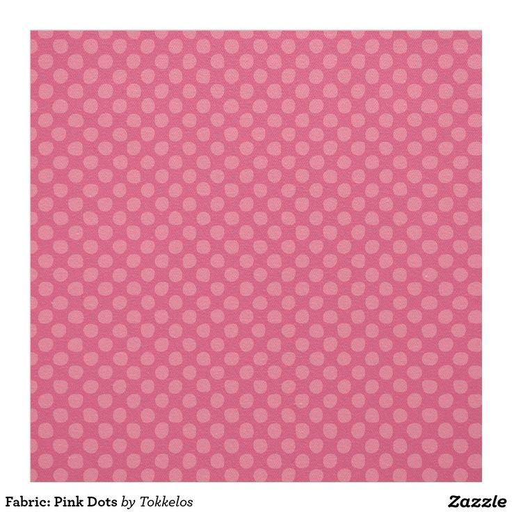 Fabric: Pink Dots