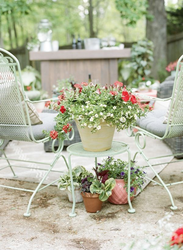 Transforming Your Patio With Plants | theglitterguide.com