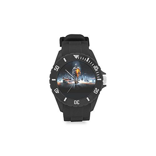 Special Design Military US Army Soldier Holding a Machine Gun Custom Kids Round Rubber Sport Watch * Read more  at the image link. (This is an Amazon affiliate link and I receive a commission for the sales and I receive a commission for the sales)