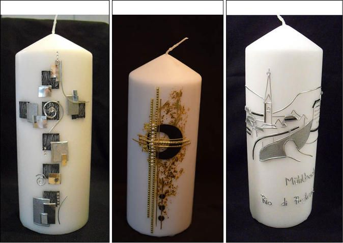 Die kunstvollen Kerzen der Miss Südtirol