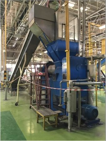 Tender Sale of Soap Manufacturing Lines. 20Oct. Bangkok, TH. 2 Lot Tender Sale. Lot 1: Marchant Super Chiller, Mazzoni TMD 350 Plodder, Binacchi Stamper, with label dispenser, APD shrink wrap tunnel and conveyors (1975). Lot 2: Mazzoni DT-300 Plodder, Mazzoni Stamper, with conveyors (1975/1986)