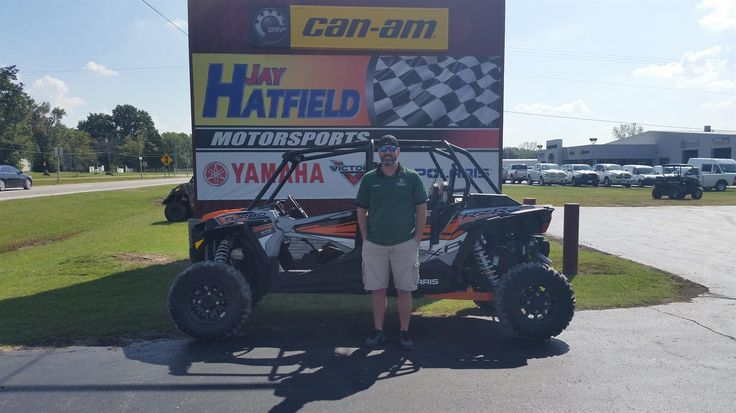 Shannon's new 2018 Polaris RZR 4 Turbo! Congratulations and best wishes from Jay Hatfield Motorsports and Blake Mathis.