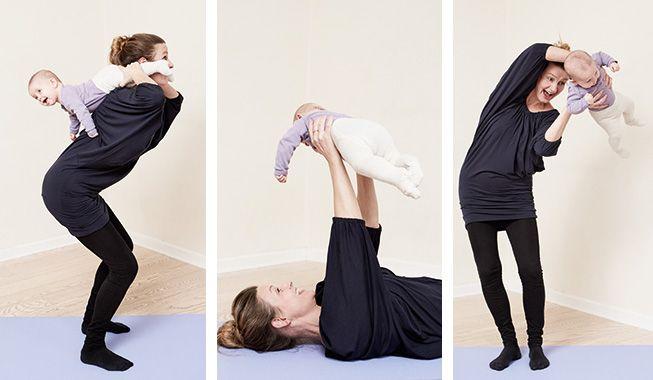 Motion: Leg dig i form, mor