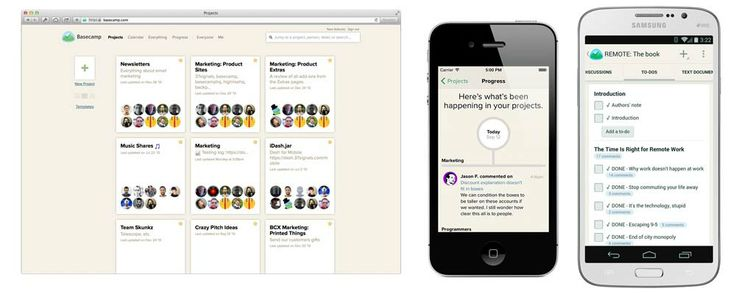 Basecamp is everyone's favorite project management app.