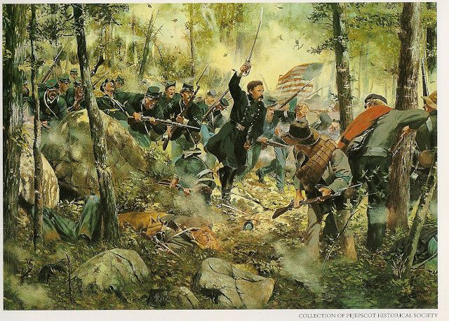 GUERRA CIVIL AMERICANA ( LAMINAS DE DON TROIANI'S gettysburg