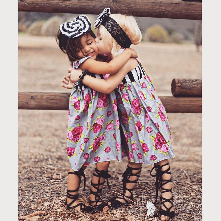 Best little girl style ever! These two are the cutest ...