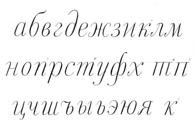 Cyrillic calligraphy manual? | Typophile