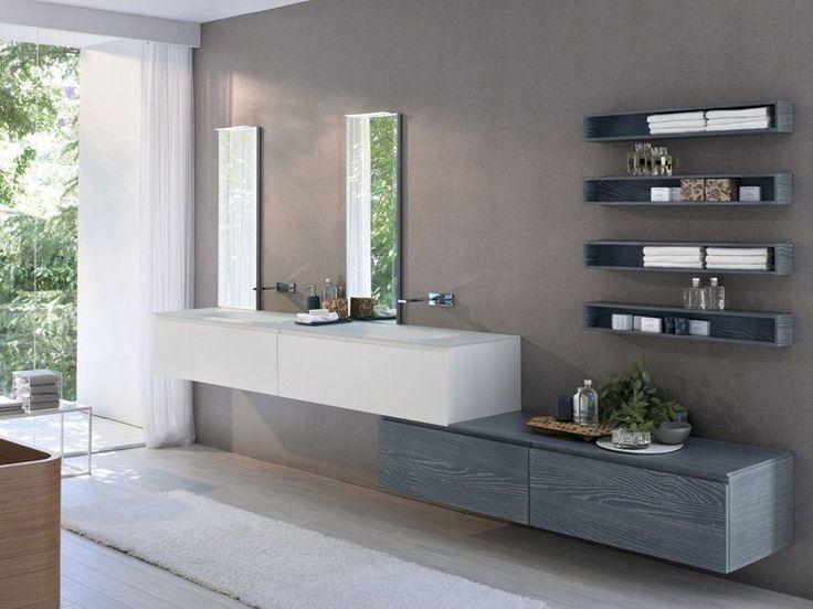 disposizione bagni moderni
