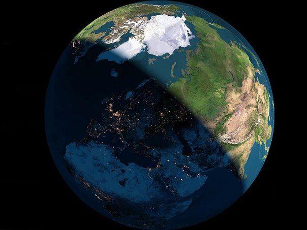 Планета Земля. День и Ночь из космоса / Astro Analytics