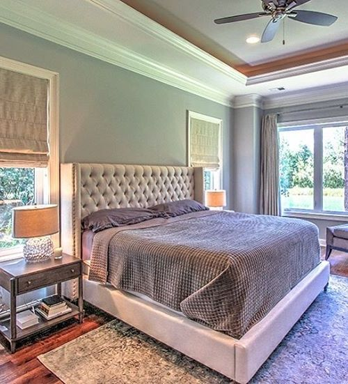 @bluecanopydesignu0027s Recent Bedroom Project Was Styled With Our Effortlessly  Elegant Roberto Bed. Gorgeous!