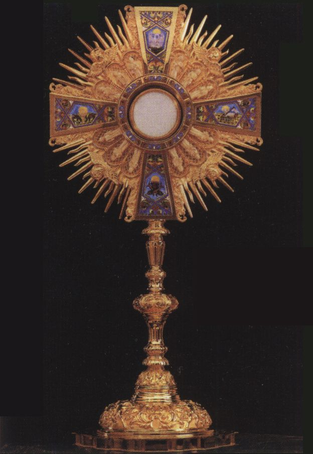 17 Best images about Eucharistic Monstrance on Pinterest ...