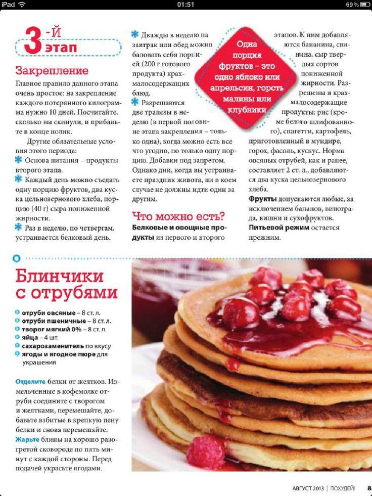 Рецепт диеты дюкан