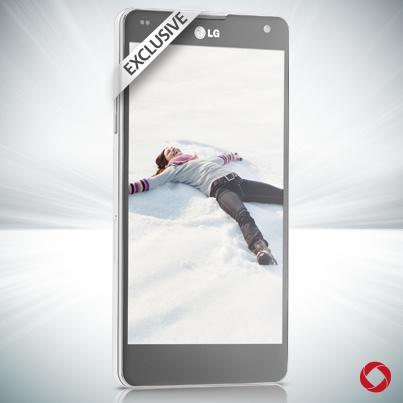 White LG Optimus 2600 #RogersWinterWhites