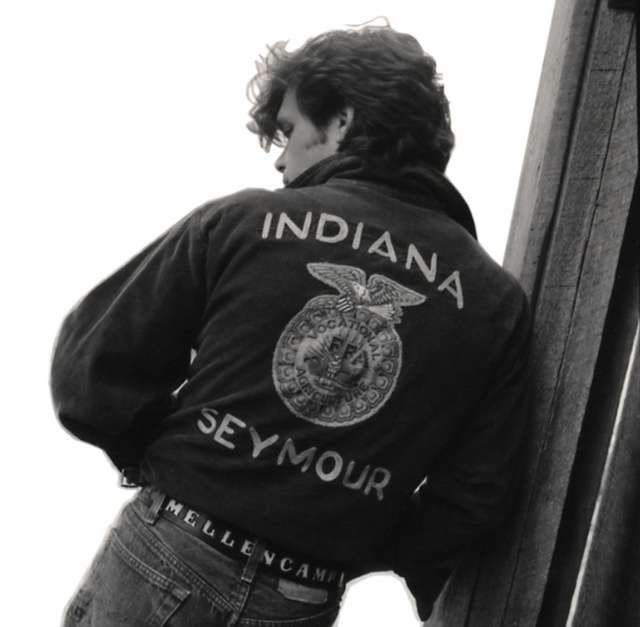 Magazine John Mellencamp Ffa Jacket Indiana Girl