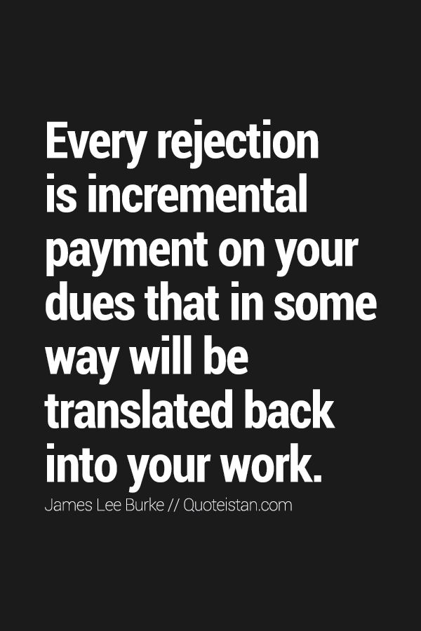 Best  Rejected Quotes Ideas On   Quotes On Rejection