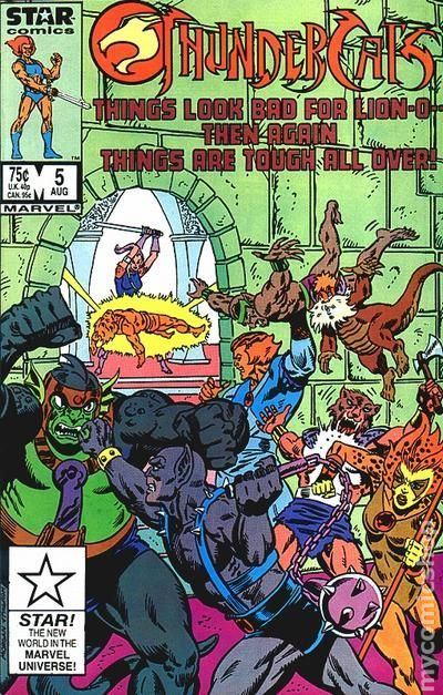 Thundercats (1985 1st Series Marvel) 5