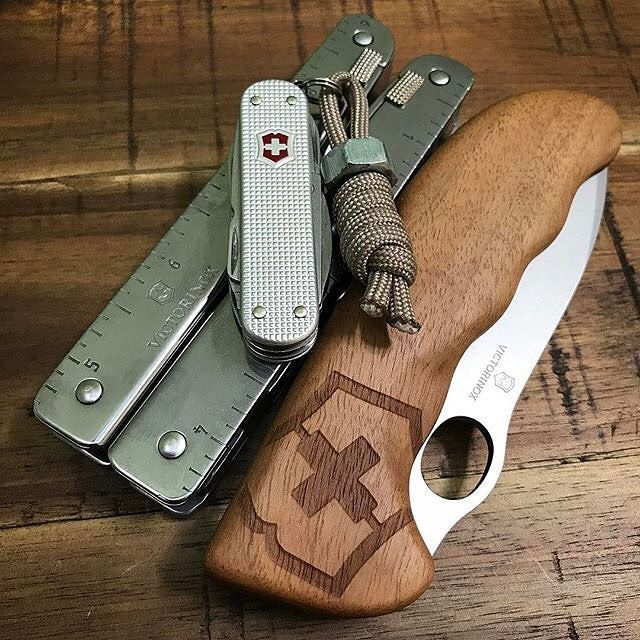 Victorinox Hunter Pro Folding Knife Wood w/Pouch  The original two Hunter Pro models in black and orange have been extended by an additional optional model with scales from distinctive patterned Swiss Walnut Wood, each with it's own 'unique' pattern.   Follow the link to make your purchase today!! http://www.sharpedge.co.za/victorinox-hunter-pro-folding-knife-wood-w-pouch?utm_content=buffera184a&utm_medium=social&utm_source=pinterest.com&utm_campaign=buffer