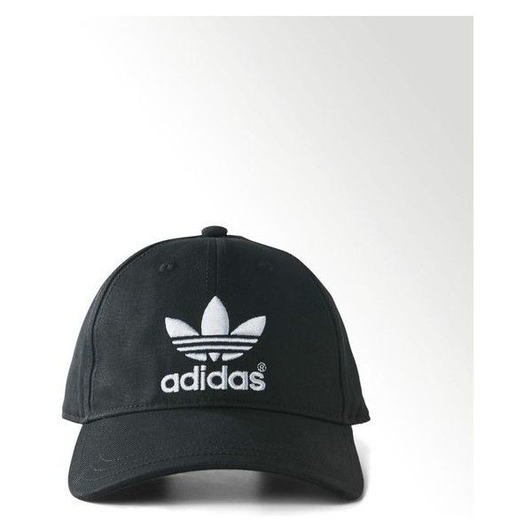 adidas ❤ liked on Polyvore featuring accessories, hats, baseball cap, adidas, black baseball cap, adidas hats and baseball hats