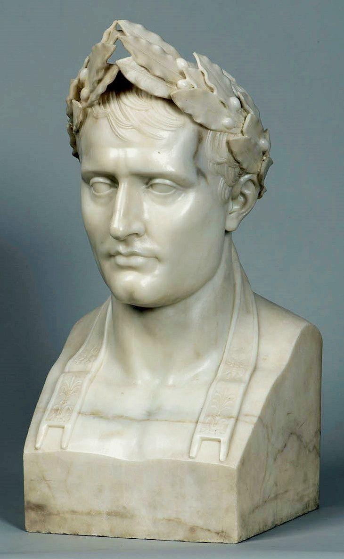 Bust of Napoleon by Antoine-Denis Chaudet, after 1804, Zamek Królewski w Warszawie (ZKW)