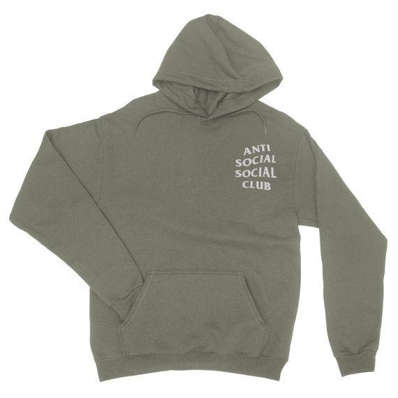 Anti Social Social Club Hoodie - Anti Social Social Club Sweatshirt - Kanye West Hoodie - assc - yeezy hoodie - Yeezus Hoodie - Yeezus  #SocialSocialClub #Hoodies