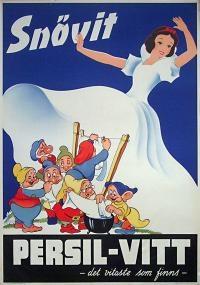Persil - Snow White 1930s Vintage Poster