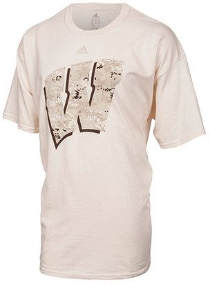 ADIDAS TEAM Men's adidas Wisconsin Badgers College Camo T-Shirt - Shop for women's T-shirt - YNU7WISOFW-Off White T-shirt
