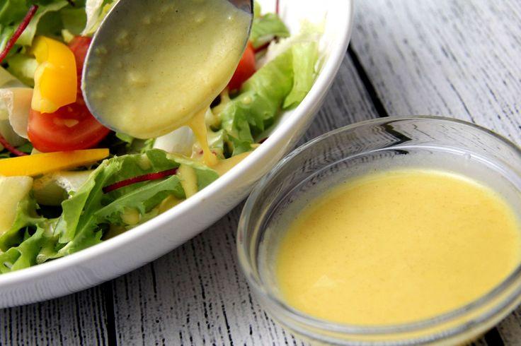 Mézes-mustáros salátaöntet recept