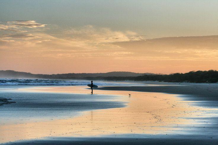 Tallows sunset Byron