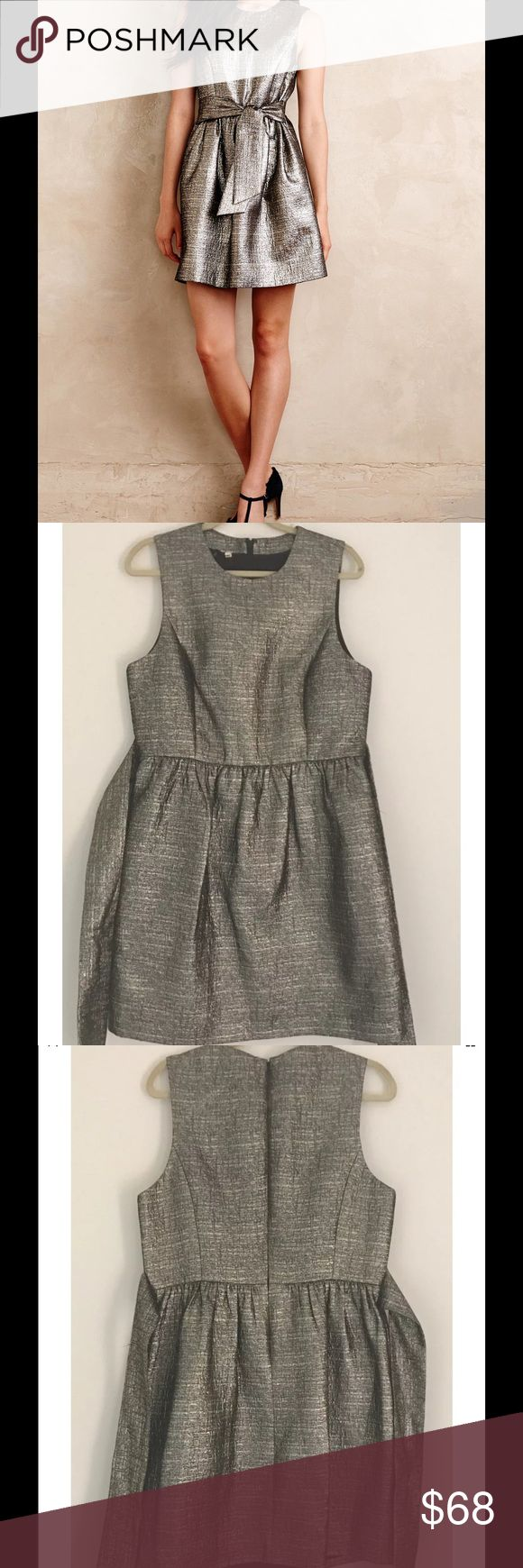 Anthropologie 4. COLLECTIVE Shimmered Neve Dress New condition! Anthropologie Dresses