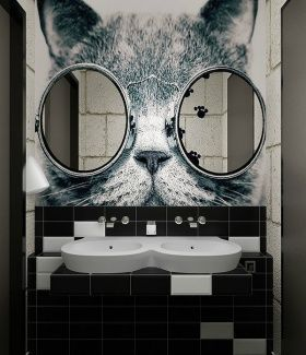 20 Framed Bathroom Mirror Ideas for Double Vanity & Single Sink with light