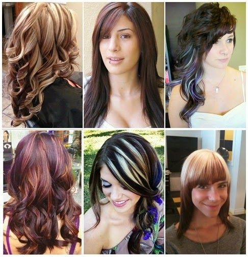 30 Different Ideas to Change Your Look With Hair Highlights. Brown, blonde,red,dark hair highlighting ways for better look.
