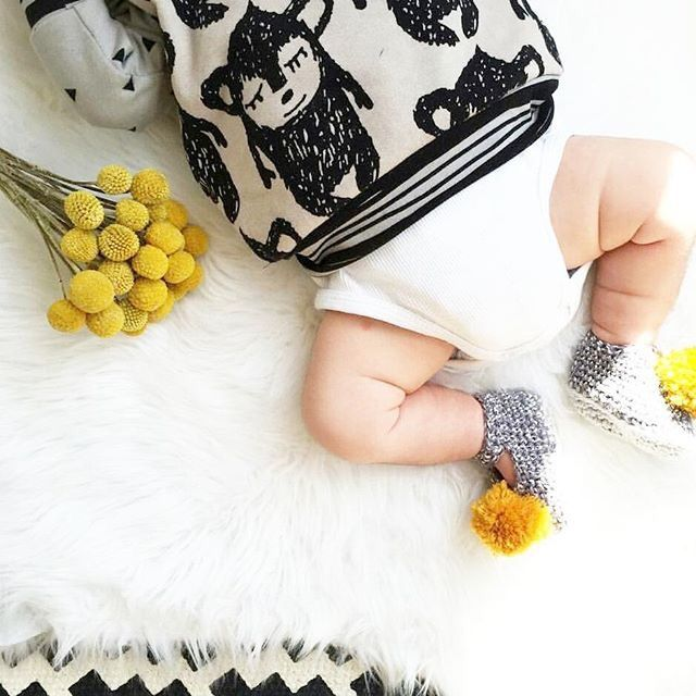 Designer Baby Fashion.   Loving these baby jumpers with gorgeous monkey print by @siennaandme Lo— Yummy Mummy Pregnancy Day Spa