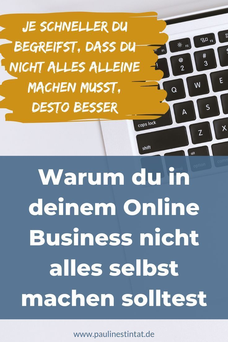 Why you should not do everything yourself in your online business!  #Everything
