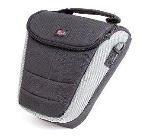 DURAGADGET Nikon F6 SLR Camera All Weather Black And Grey Lightweight Top-Loader Protective Carry Case With Detachable Shoulder Strap & EVA ...