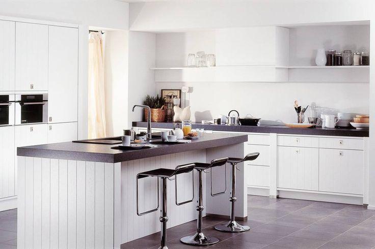 Een landelijke keuken voor extra veel wooncomfort. Een keuken voor het hele gezin!