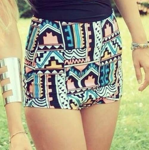 shorts ala cintura