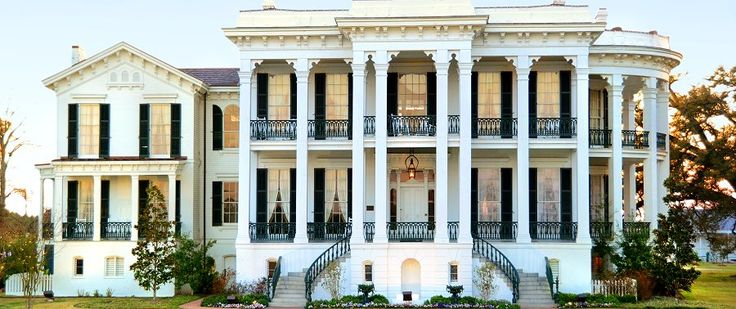 Nottoway Plantation makes the list at #35 - one of the best know places to visit in Iberville Parish #visitiberville