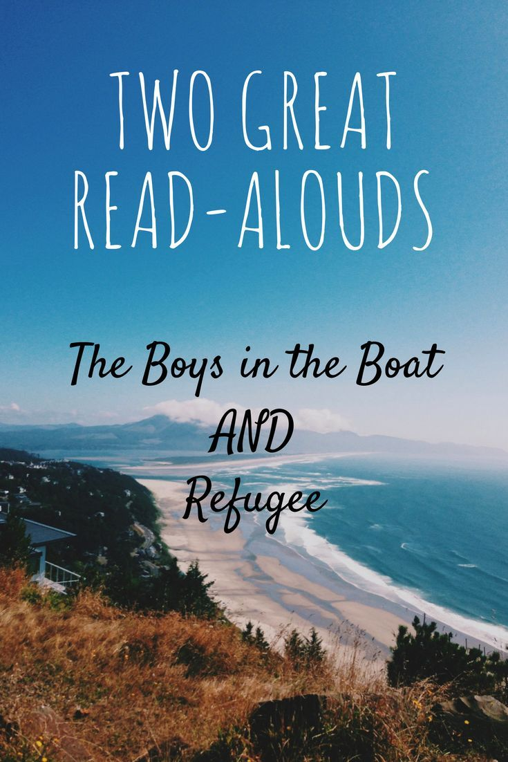 Two great read alouds for 2018!  The Boys in the Boat (making it to the 1936 Olympics) and Refugee (3 refugees from 3 different time periods) are outstanding, thought-provoking books to read to upper elementary and middle school students.