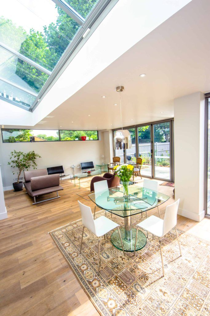 Loads of light in this House extension and Loft conversion in Barnes, London