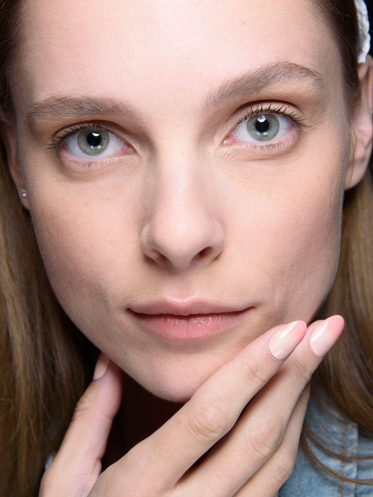 Peachy Ombré Nails auf der Fashion Week New York