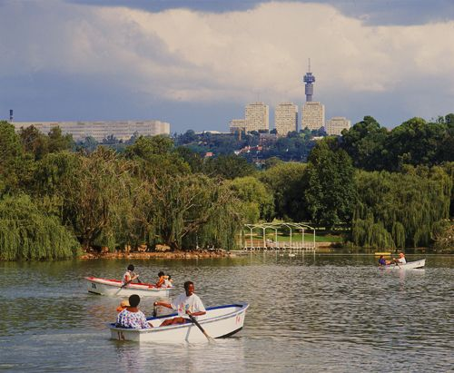 Zoo Lake, Johannesburg