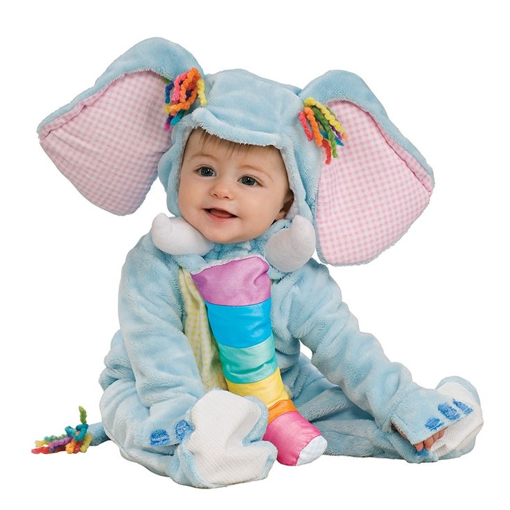 Adorable baby elephant costume for babies. So funny!