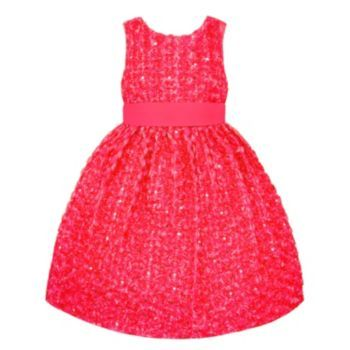 American Princess Rosette Dress - Toddler . also available in yellow (more of a gold actually)