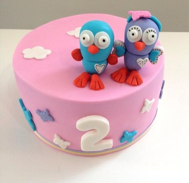 Hootabelle and Hoot cake - Deliciously Yours