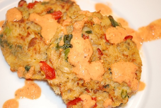 Low Calorie Baked Crab Cake Recipe